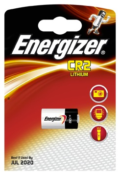 Energizer CR2 Battery, Pack of 1