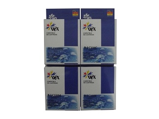 Set of 8 compatible Brother LC133 (2BK/2C/2M/2Y) ink cartridges